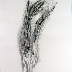 """Gesture 6420"", private collection, United States"