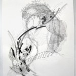 P3882, 2013, graphite on paper, 20.5/8 x 14.3/4 inches (52,5 x 37,5 cm)