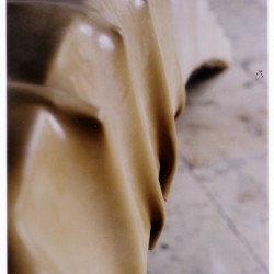 Comma sculpture, 2001 (detail)