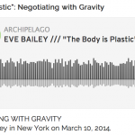 Eve Bailey Archipelago Interview